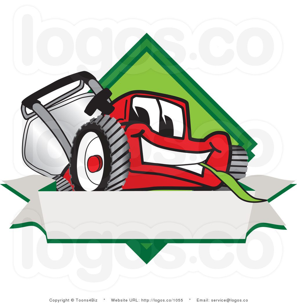 1024x1044 Behind Clipart Royalty Free Cartoon Vector Logo Of A Red Lawn