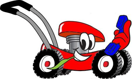 450x268 Lawn Mowing Pictures Clipartsco, Mowers With Faces Clip Art