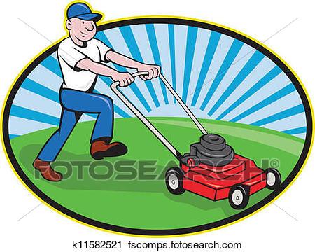 450x360 Lawn Mower Clipart Royalty Free. 907 Lawn Mower Clip Art Vector