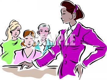 350x264 Female Lawyer Addressing The Jury