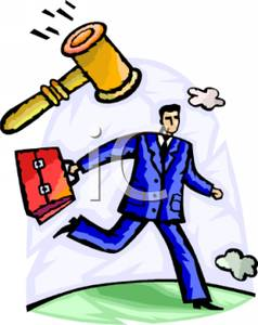238x300 Lawyer With A Gavel And A Briefcase