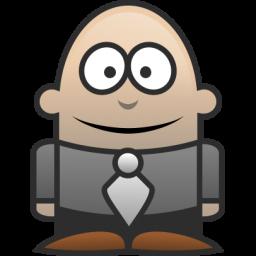 256x256 Lawyer Icon Character Iconset Martin Berube
