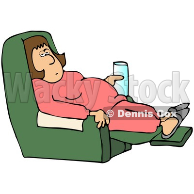 400x400 Lazy At Work Clipart