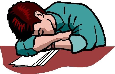 488x314 Sleeping Clipart Lazy Student