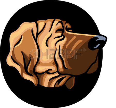 450x419 Detective Dog Royalty Free Cliparts, Vectors, And Stock