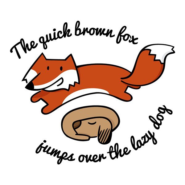 600x600 Psychological Facts On Twitter The Sentence The Quick Brown Fox
