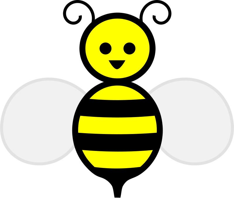 800x685 Free Clipart Honey Bee Laobc