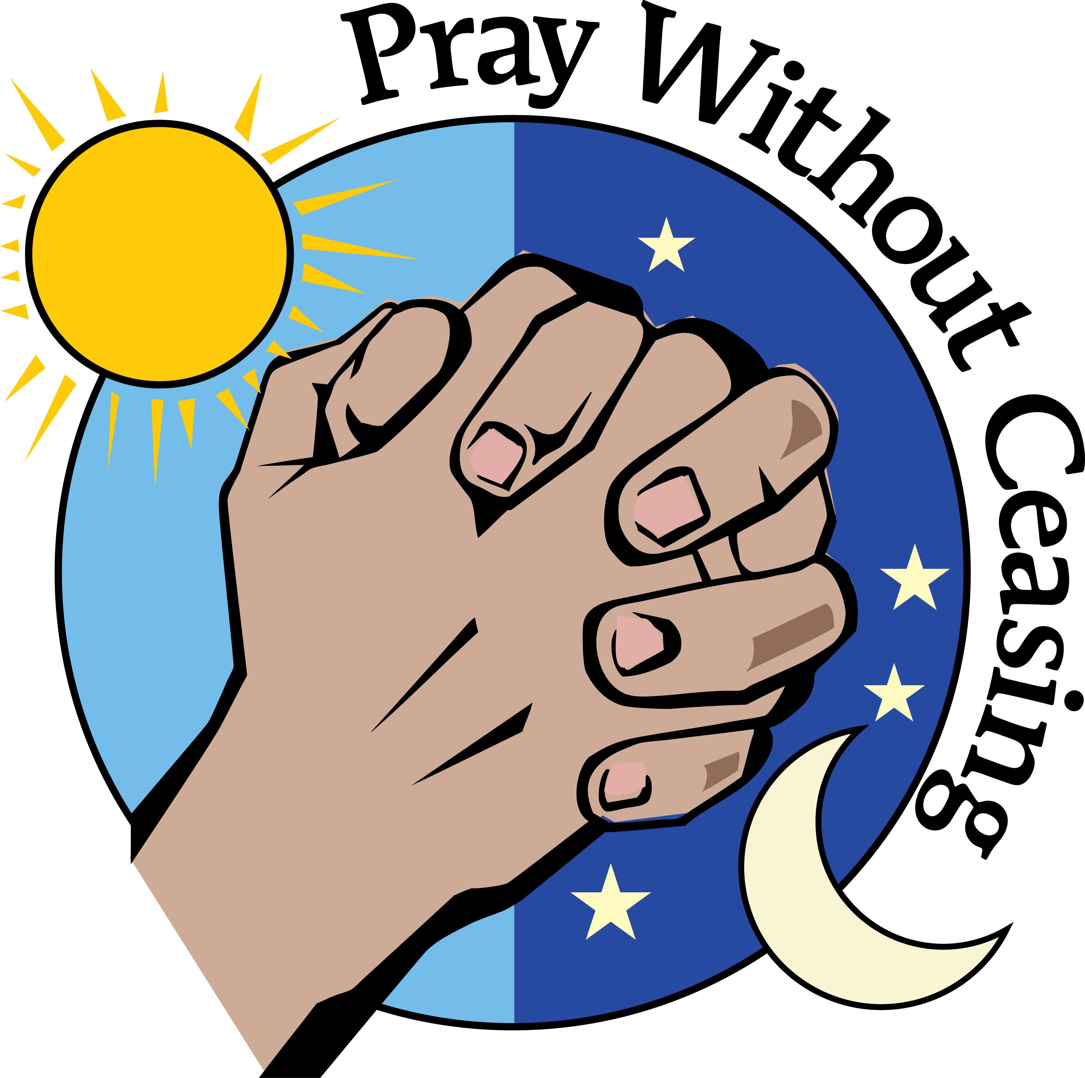 3553x3533 Evening Prayer Clipart