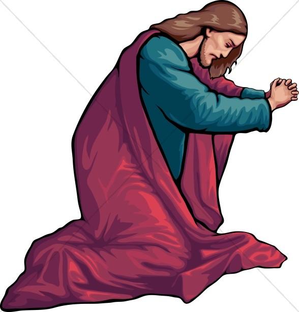 588x612 Prayer Jesus Clipart, Explore Pictures