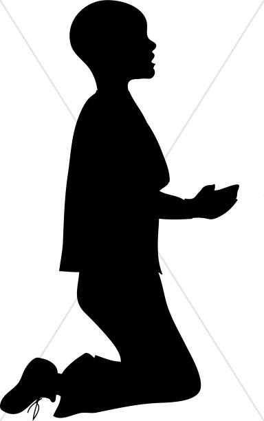 384x612 Clip Art Prayer