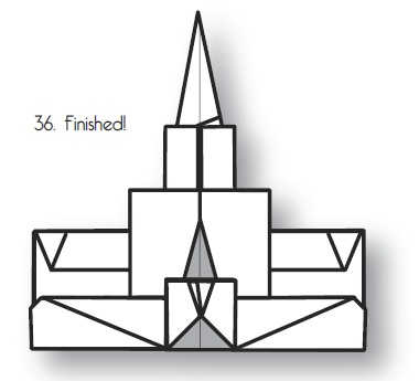 380x345 3 Mormon Origami Projects For Your Next Church Activity Origami