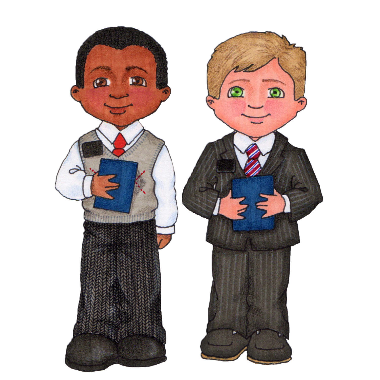 1500x1500 Missionary Lds Clipart