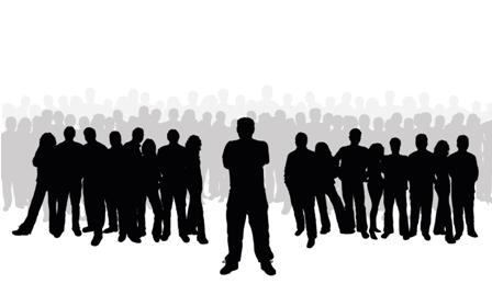 448x269 Crowd Clipart Leadership