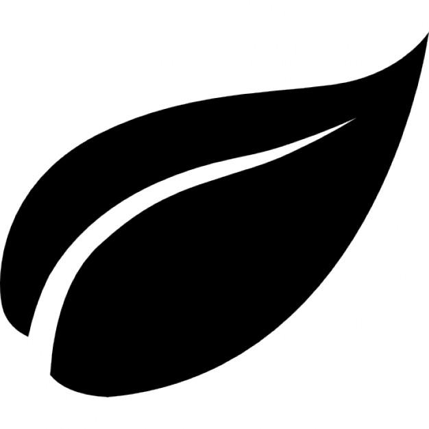 626x626 Leaf Black Shape Icons Free Download