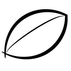 236x236 Leaf Clipart Black