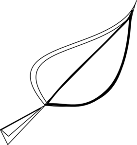 282x298 Black Leaf Clip Art