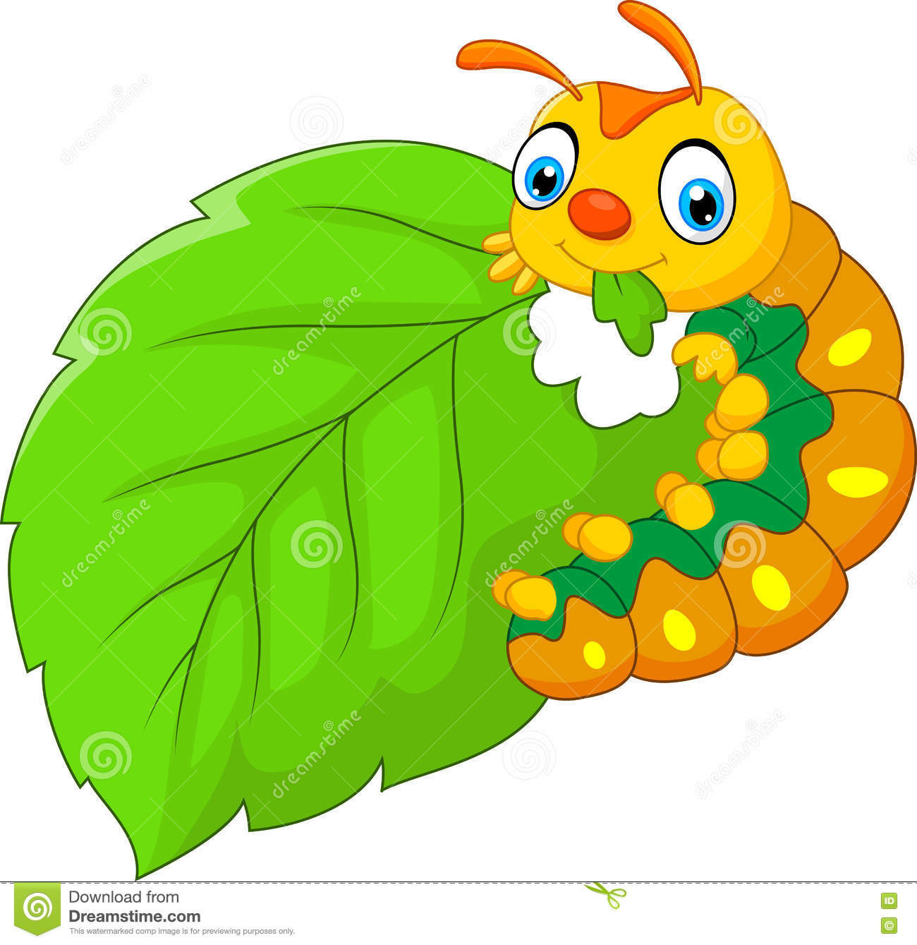 1300x1339 Caterpillar Clipart Leaf Clipart