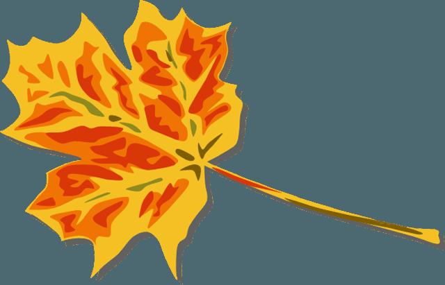 640x411 Fall Leaves Clip Art Free
