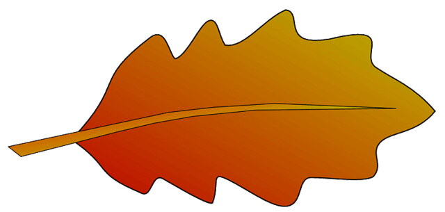 640x305 Oak Leaf Clipart Free Images