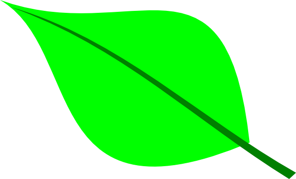600x363 Green Leaf Clip Art