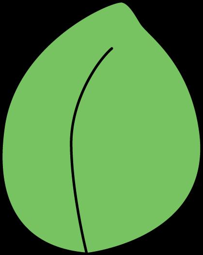 419x526 Plant Leaf Clip Art