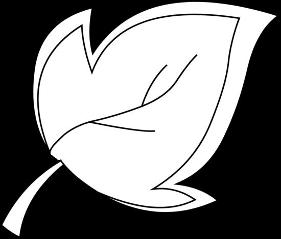 550x469 Leaf Outline Clip Art Black Clipart Panda