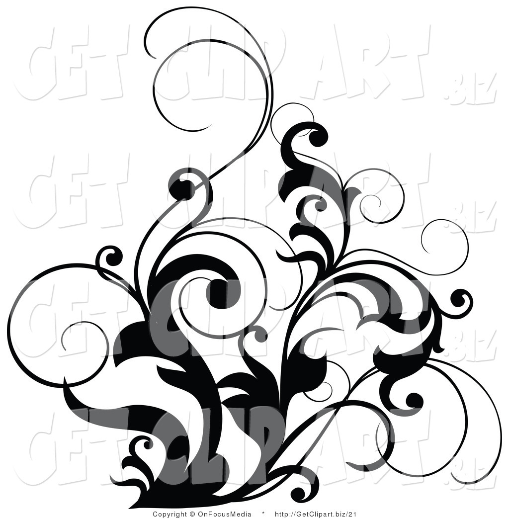 1024x1044 Curly Leaves Clipart