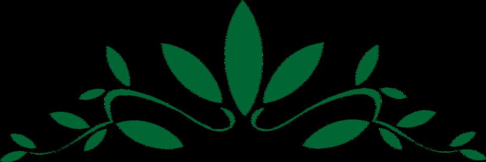 958x319 Design Free Stock Photo Illustration Of A Green Leaf Design