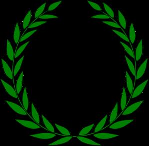 298x291 Green Leaf Cool Clip Art