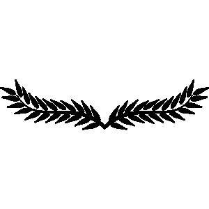 300x300 Leaves Clipart Crest