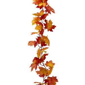 300x300 Fall Garland Clipart