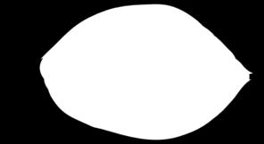296x162 Leaf Outline Clip Art