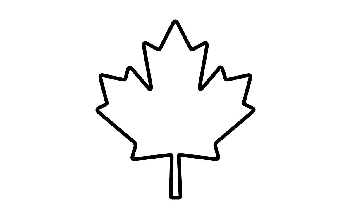 1200x750 Top 10 Maple Leaf Outline Clipart Pictures