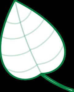240x300 Jungle Clipart Leaf Outline