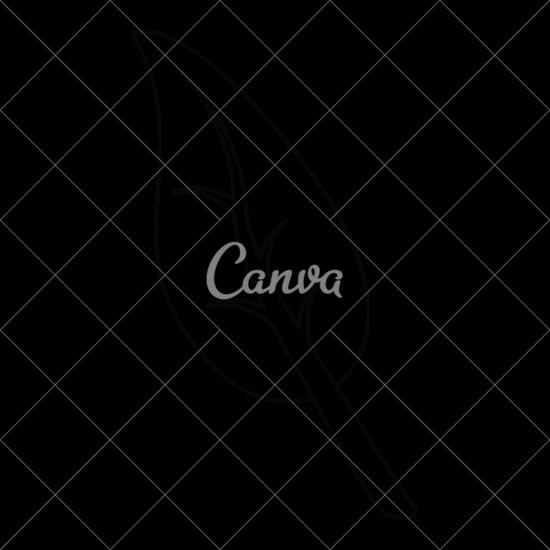 550x550 Leaf Outline