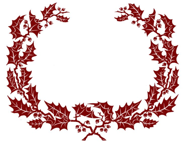 Leaf Wreath Clipart