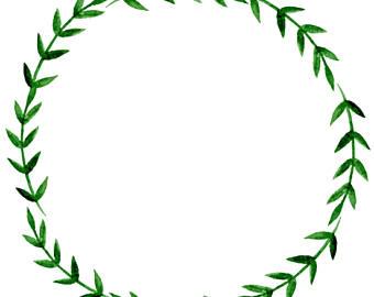 340x270 Printable Wreath Etsy