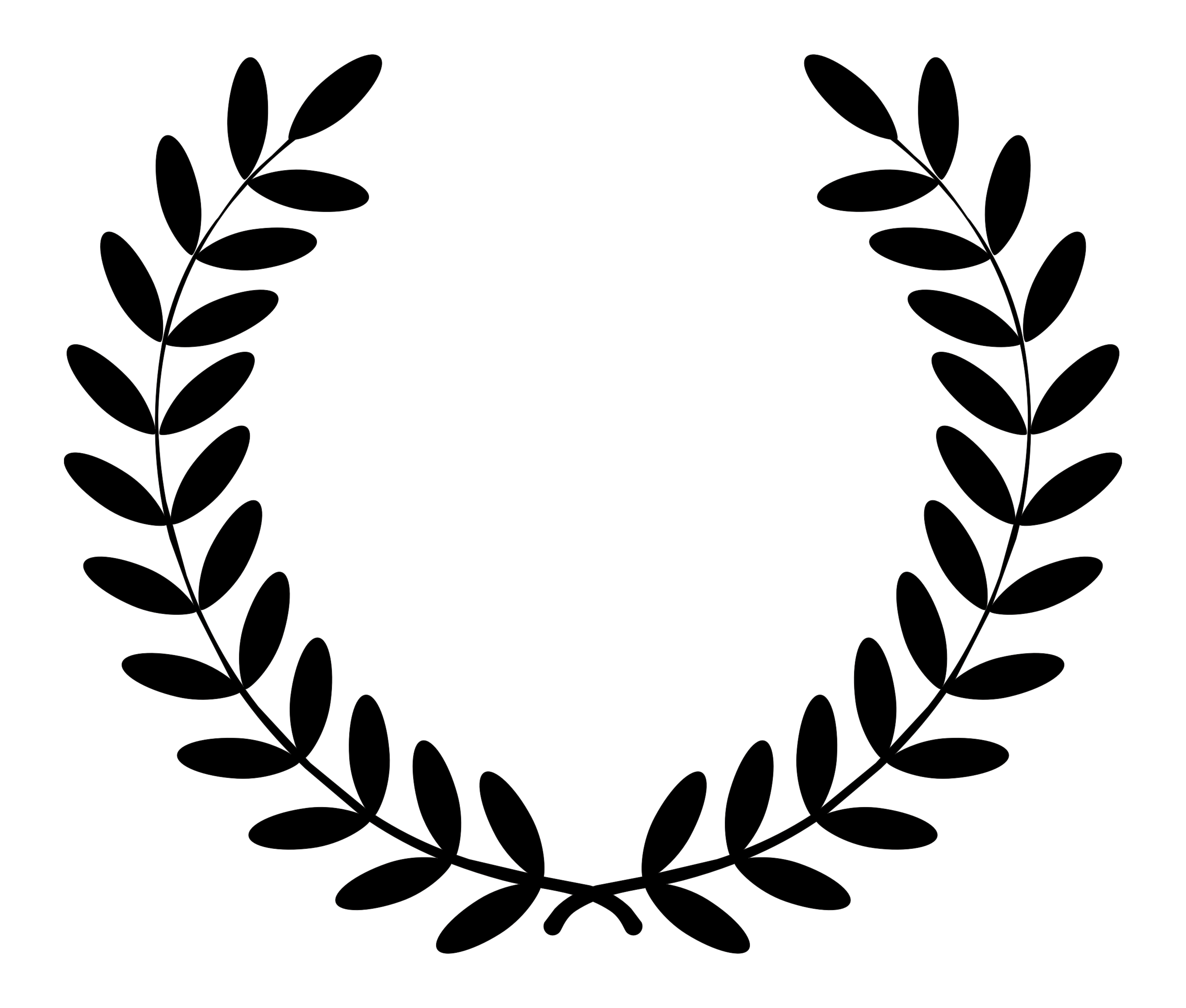 2690x2287 Wreath Clipart Service Award