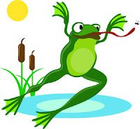 200x184 Frog Race For Kids Clipart