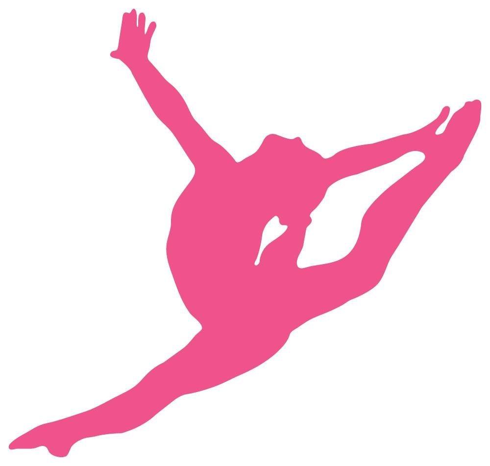 1000x951 Gymnast Clipart Leap
