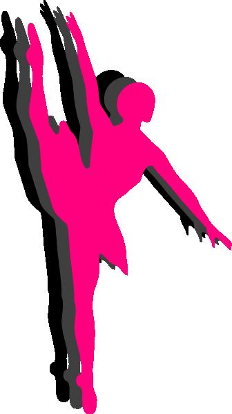 336x598 Triple Ballet Dancer Silhouette Clip Art