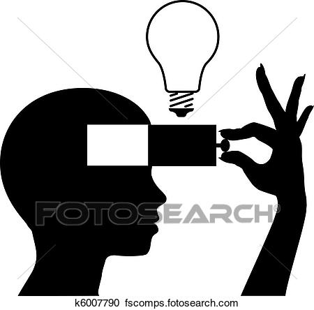 450x444 Clipart Of Open A Mind To Learn New Idea Education K6007790