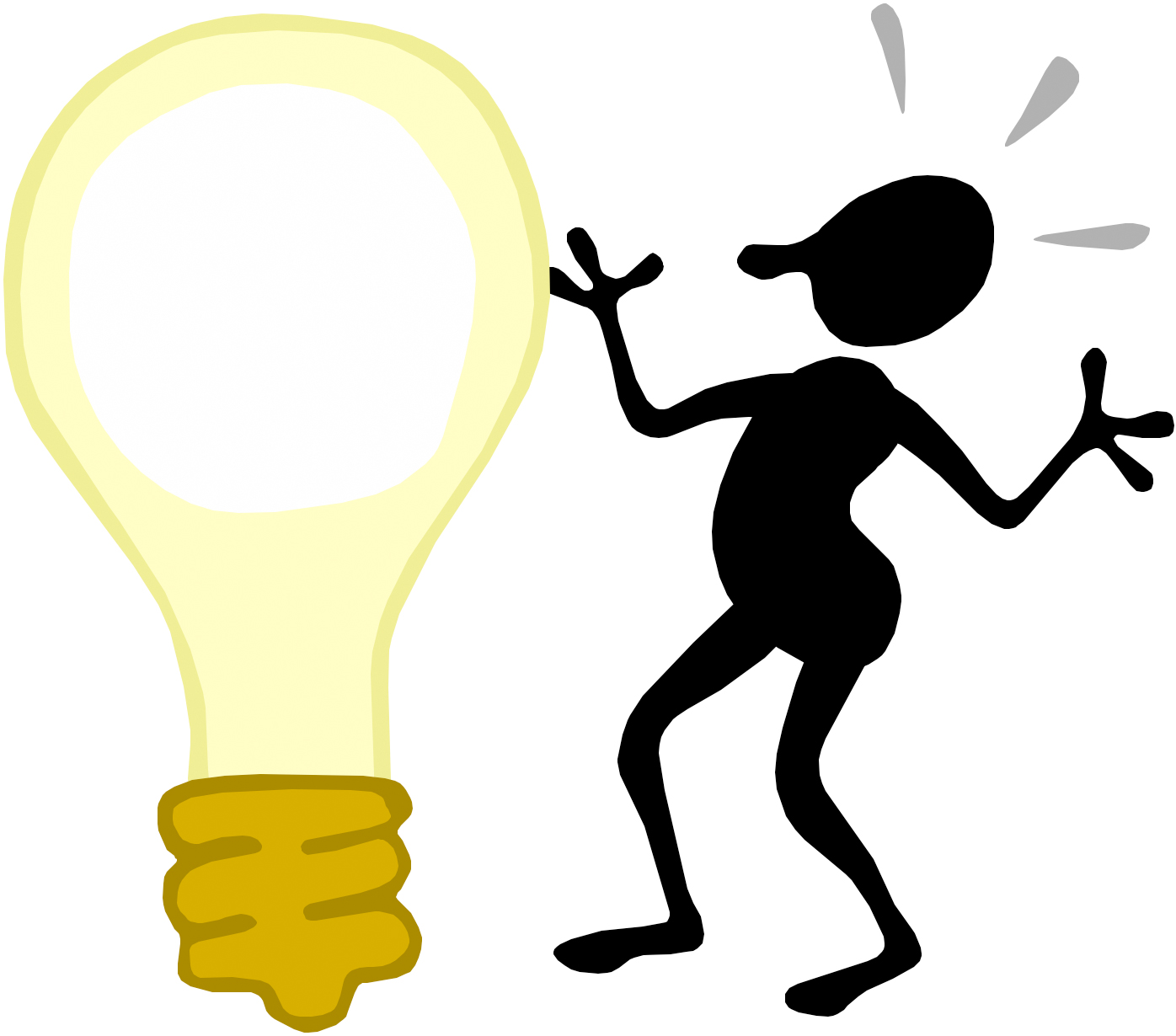 1396x1230 Light Bulb Clipart Learning Light