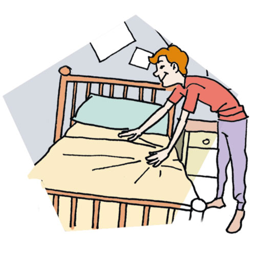500x500 Make Bed Learn A Woodworking Clip Art Wikiclipart