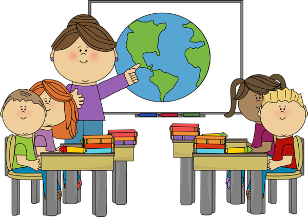 600x423 Clip Art Students With Technology Learning Cliparts