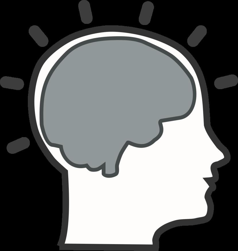 830x873 Learning Brain Clipart