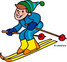 218x202 Free Seasons Clipart Skiing Clip Art