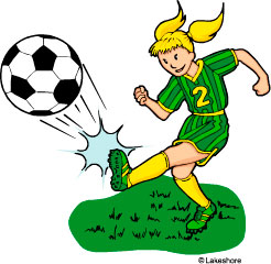246x240 Soccer Clip Art