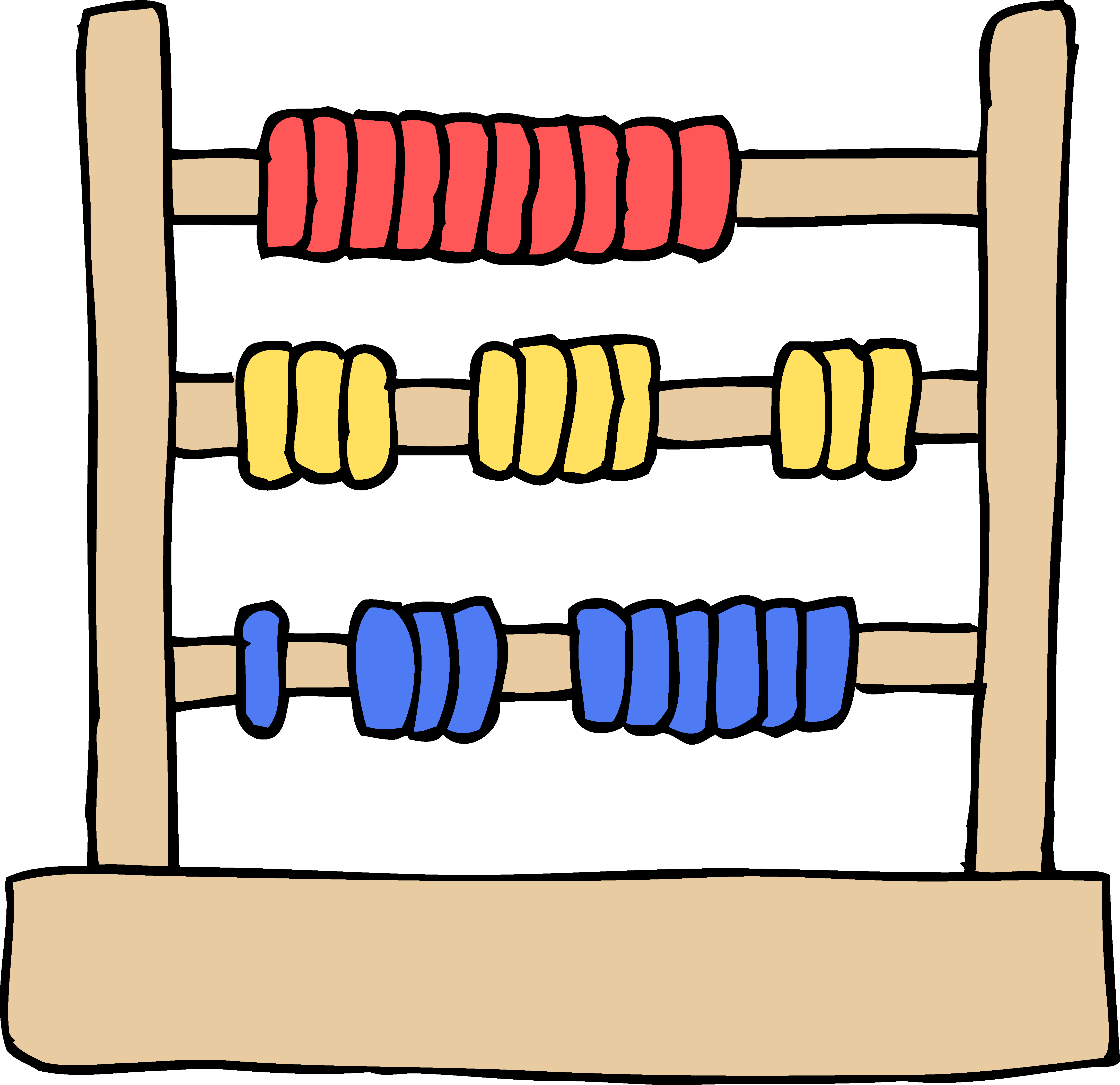 4352x4217 Kids Abacus Toy Clipart