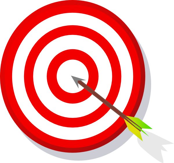 600x560 Target Clipart Learning